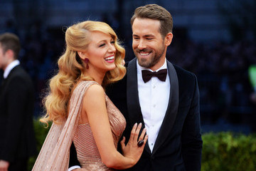 "Blake Lively Ryan Reynolds ""Charles James: Beyond Fashion"" Costume Institute Gala - Candids"