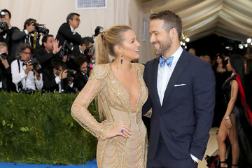 "Blake Lively Ryan Reynolds ""Rei Kawakubo/Comme des Garcons: Art of the In-Between"" Costume Institute Gala - Arrivals"