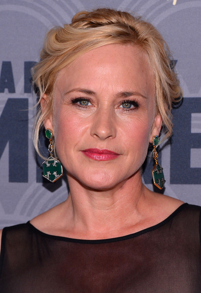 Patricia Arquette swept her hair up in a romantic wavy updo for the 'Boardwalk Empire' season four premiere.