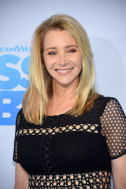 Lisa Kudrow sported a shoulder-length layered cut at the New York premiere of 'The Boss Baby.'