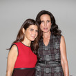 Marisa Tomei and Andie MacDowell at Bottega Veneta