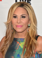 Adrienne Maloof wore her blonde locks in a chic layered cut at the Most Talkative event.