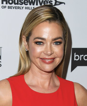 Denise Richards sported a neat side-parted hairstyle at the 'Real Housewives of Beverly Hills' premiere party.