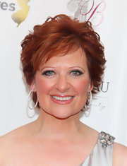 Caroline Manzo wore a gorgeous short wavy 'do to the premiere of 'The Real Housewives of New Jersey' Season Two.