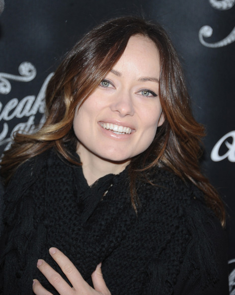 More Pics of Olivia Wilde Wool Coat (1 of 4) - Wool Coat Lookbook - StyleBistro