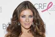 Elizabeth Hurley Long Wavy Cut