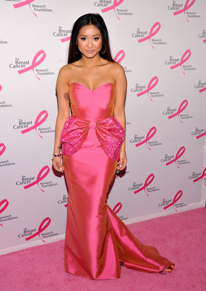 Brenda Song Mermaid Gown