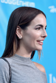 Camilla Belle opted for a fuss-free straight hairstyle when she attended the UN special event.
