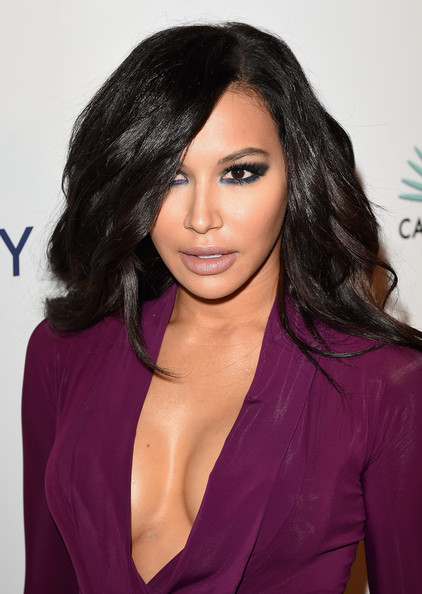 Naya Rivera was sexily coiffed with high-volume, side-parted waves during Brian Bowen Smith's Wildlife show.