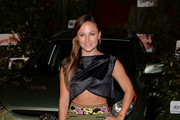 Briana Evigan Crop Top