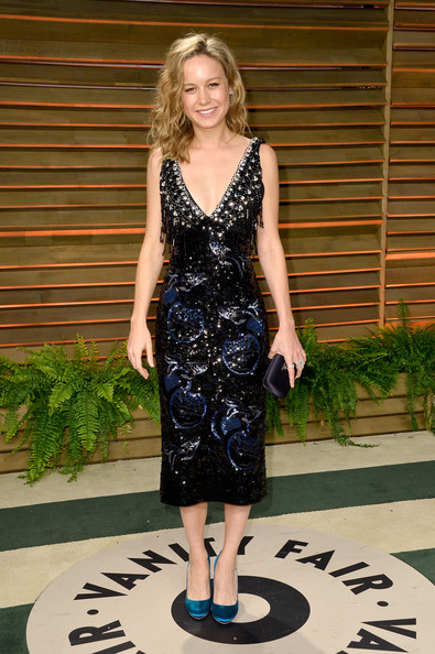 Brie Larson Beaded Dress