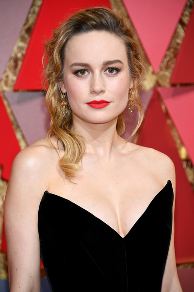 Brie Larson Half Up Half Down