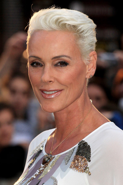 Brigitte Nielsen Short Straight Cut