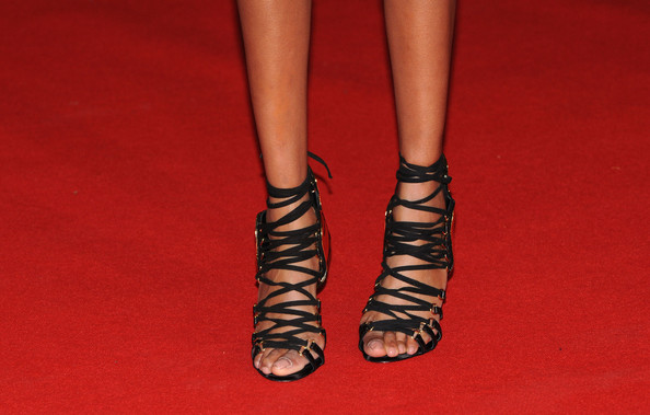 More Pics of Jourdan Dunn Strappy Sandals (1 of 6) - Jourdan Dunn Lookbook - StyleBistro