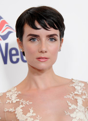 Victoria Summer channeled Audrey Hepburn with her pixie cut at the BritWeek 10th anniversary VIP reception.