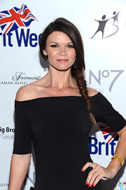 Danielle Vasinova looked darling at the BritWeek Celebrates Downton Abbey event with this long braided 'do.