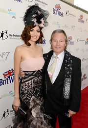 Blanca Blanco was a head turner at the BritWeek Celebrates Downton Abbey event with this towering fascinator.