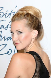 Kate Hudson wore her hair in a sexy loose bun at the 2011 British Fashion Awards.