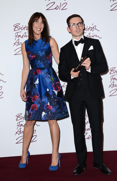 Samantha Cameron at the 2012 British Fashion Awards