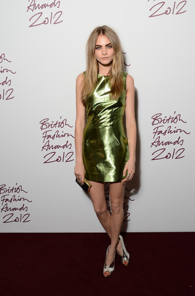 Cara Delevingne at the 2012 British Fashion Awards