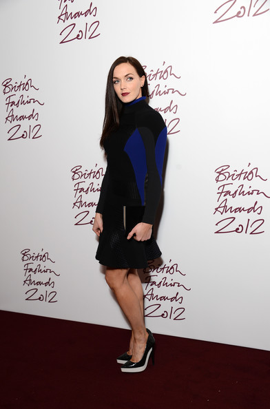 Victoria Pendleton at the 2012 British Fashion Awards