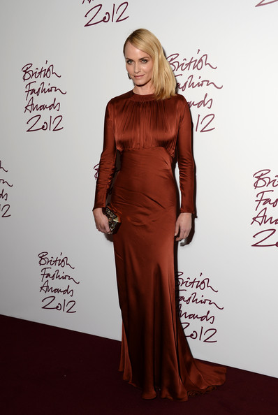 Amber Valletta at the 2012 British Fashion Awards