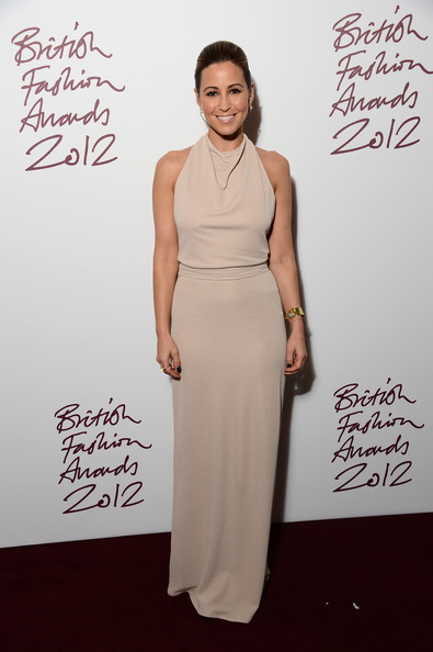 Rachel Stevens at the 2012 British Fashion Awards
