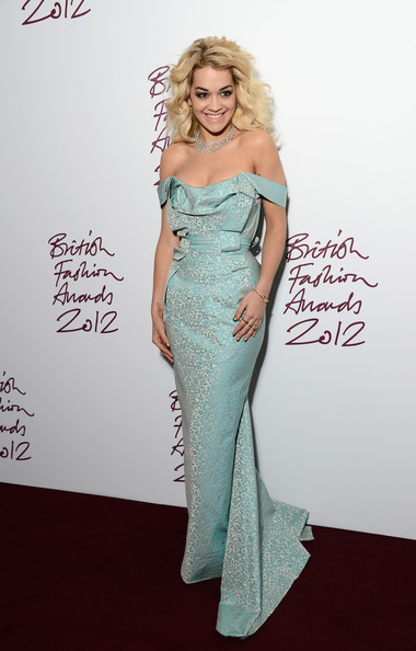British Fashion Awards 2012 - Inside Arrivals