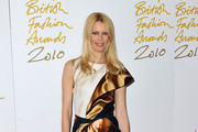 Claudia Schiffer attends the British Fashion Awards at The Savoy on December 7, 2010 in London, England.