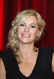 Alex Fletcher looked enchanting at the British Soap Awards with her side-swept curls.