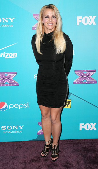 Britney Spears Little Black Dress