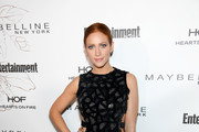 Brittany Snow Metallic Clutch