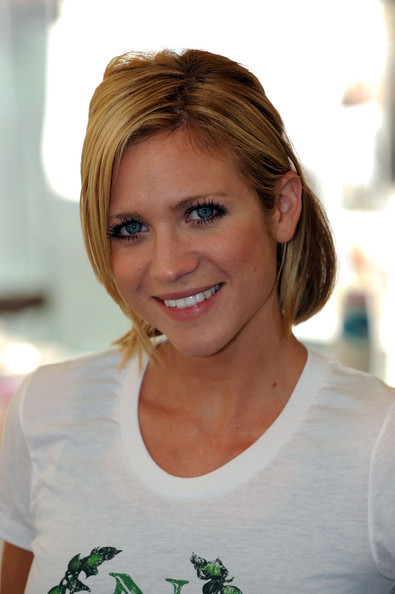 Brittany Snow Bob [hair,face,hairstyle,eyebrow,beauty,blond,smile,chin,brown hair,forehead,newmans own,habitat,newman?,make a difference day,difference,volunteer breakfast,h,california,lynwood,brittany snow]