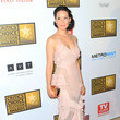 Lucy Liu's Atelier Versace blush-pink gown
