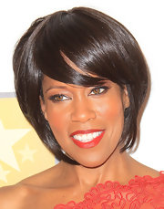 Regina King looked very trendy at the Critics' Choice Awards with this graduated bob.
