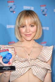 Katharine McPhee kept it cute with this bob at the Broadway.com Audience Choice Awards.