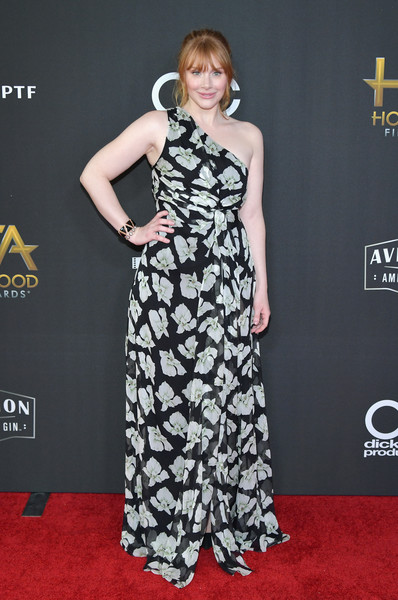 Bryce Dallas Howard One Shoulder Dress