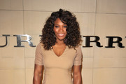 Tennis player Serena Williams attends the Burberry Body Launch event at Burberry on October 26, 2011 in Beverly Hills, California.