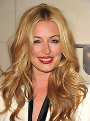 Cat Deeley wore a va-va-voom red lipstick at the Burberry Body launch for some high impact sexiness.