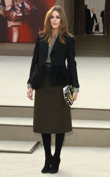 More Pics of Olivia Palermo Knee Length Skirt (3 of 5) - Knee Length Skirt Lookbook - StyleBistro