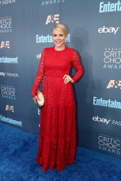 Busy Philipps Frame Clutch