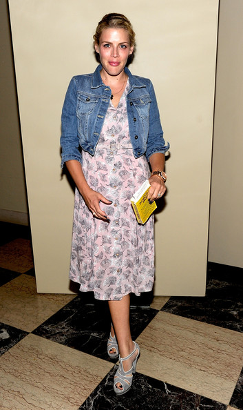 Busy Philipps Platform Sandals