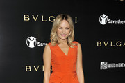 Malin Akerman arrives for a BVLGARI fundraiser benefitting Save The Children and Artists For Peace held at a private residence on January 13, 2011 in Beverly Hills, California.