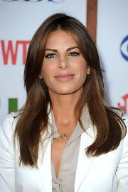 Jillian Michaels sported a glossy straight 'do at the 2011 TCA party.