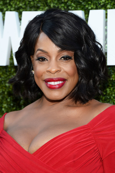 Niecy Nash showed off a perfect curled-out bob at the CBS Summer TCA Party.
