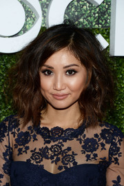 Brenda Song looked sassy with her teased waves at the CBS Summer TCA Party.