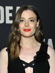 Gillian Jacobs wore her hair in soft, center-parted waves at the special screening of 'Dean.'