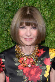 Anna Wintour attended the CFDA/Vogue Fashion Fund 15th anniversary event wearing her famous bob.