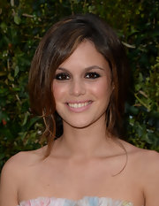 Rachel Bilson chose a long and loose braid for her totally romantic style at the Chanel Dinner for NRDC.