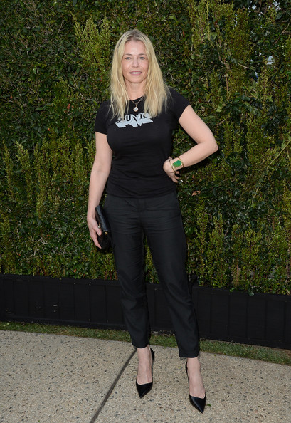 More Pics of Chelsea Handler Long Wavy Cut (1 of 10) - Chelsea Handler Lookbook - StyleBistro